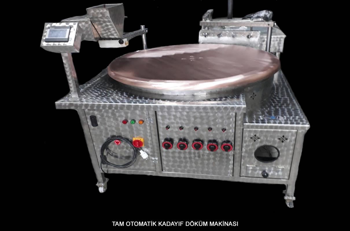 Tam Otomatik Kadayıf Döküm Makinası